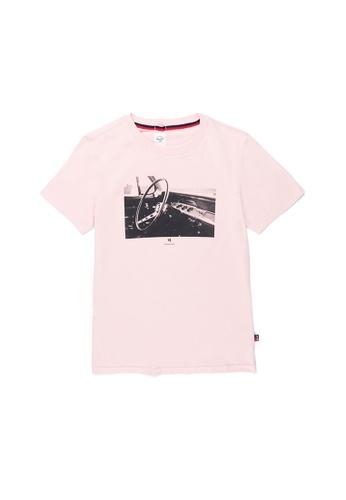 Herschel pink Herschel Women's Tee - V8 Rosewater B95DBAAC756736GS_1