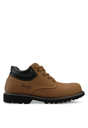 Louis Cuppers brown Lace-Up Boots 602D5SH50C5B8FGS_1