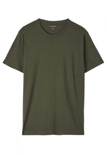 Terranova green Mid Sleeve T-shirt 828DEAAE3EA50AGS_1