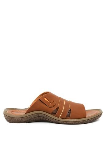 Watchout! Shoes brown Sandal Slipon WA021SH0V7Y2ID_1