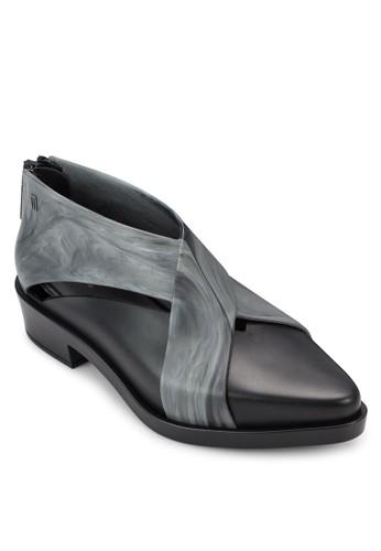印esprit官網花X 字帶踝靴, 女鞋, 鞋