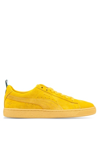 Puma Select yellow Puma x Big Sean Suede Shoes ECEC2SH181F290GS 1 33e805f18