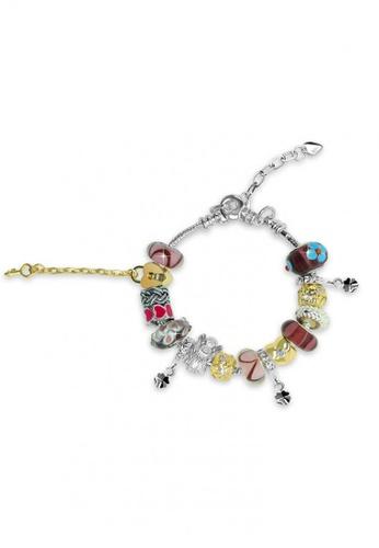 Her Jewellery purple and silver Her Jewellery Roman Charm Bracelet (Purple) C5668AC3A904A3GS_1