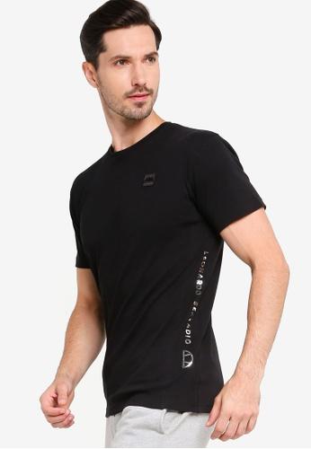 Ellesse black Pianme T-Shirt 942E1AA6B9DAA8GS_1