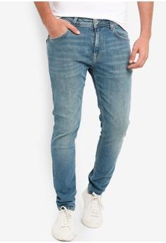 7fcebb8e7ac55 Pepe Jeans blue Nickel Regular Waist Skinny Fit Jeans 5AEDAAA2CEDA9AGS_1