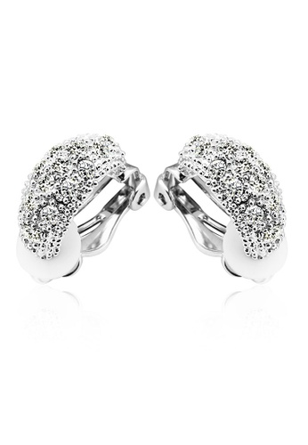 OUXI silver OUXI Fairy Autumn Earrings (Silver) OU821AC39XHSMY_1