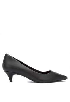 02afce800955 Malu Super Comfort black Classic Low Pointed Heeled Pumps Comfort Shoes  6E4A2SH239C5F6GS 1