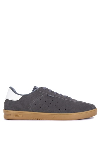 Etnies grey The Scam Sneakers D086BSH7BE5345GS_1