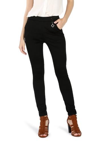 London Rag black Black Skin Fit Cigarette Pants 93BD1AA4C17099GS_1