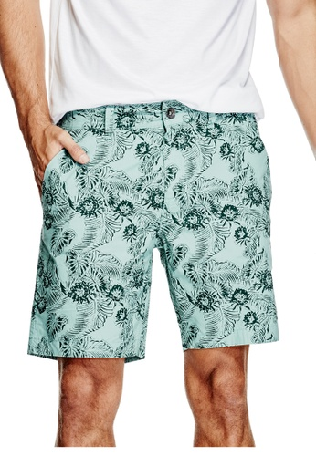 Guess multi Paul Poplin Shorts GU020AA0GUNMSG_1