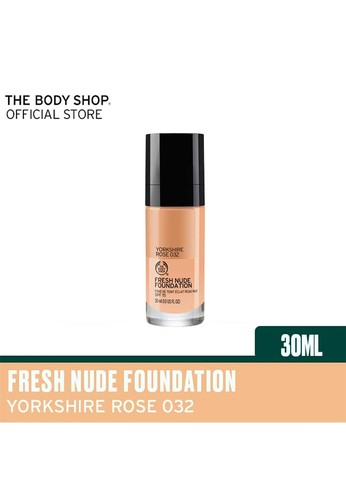 The Body Shop n/a Fresh Nude Foundation 032 Yorkshire R SPF15 30ml 0F245BEF28E855GS_1