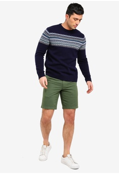 d029b161f85 73% OFF J.Crew Classic Lambswool Odin Chest Fairisle Sweater S  163.90 NOW  S  44.90 Sizes L