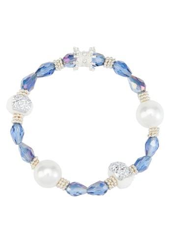 配色閃鑽珠子手鍊,esprit 中文 飾品配件, 飾品配件