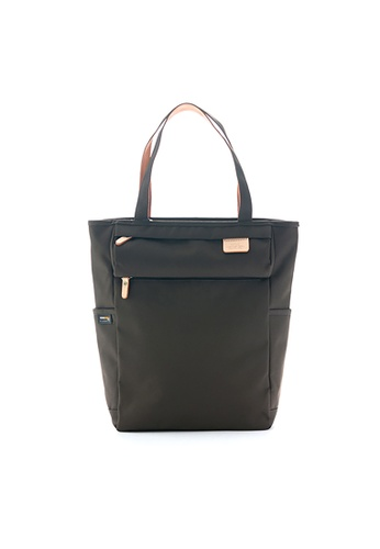 Harvest Label black Harvest Label Lycee Style Tote - Black 3101AACE7CC6A1GS_1