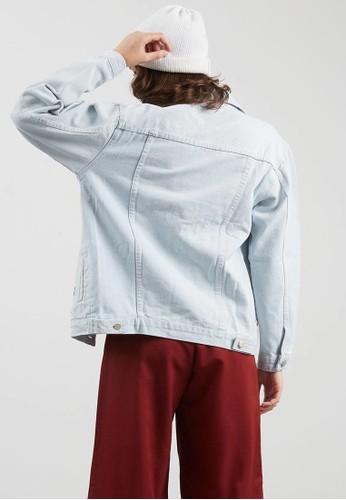 Jual Berrybenka Label Cetrabel Floral Denim Jacket White