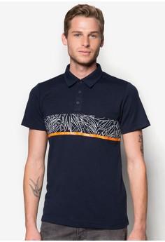 Foliage Stripe Polo