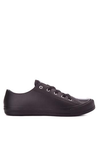 Krooberg black Retro Mens Sneakers KR692SH0J08SPH_1
