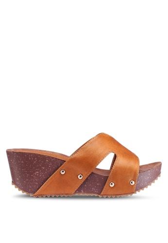 Noveni 金色 休閒楔型鞋 C86D4SHF1C0443GS_1