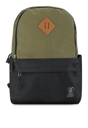 Flesh IMP green Vices Backpack FL064AC09GNYMY_1