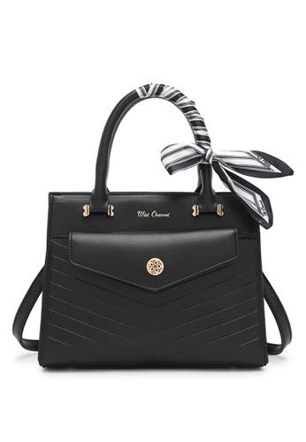 Wild Channel black Ladies Handbag / Top Handle Bag / Shoulder Bag AE9F3ACF30EA6DGS_1
