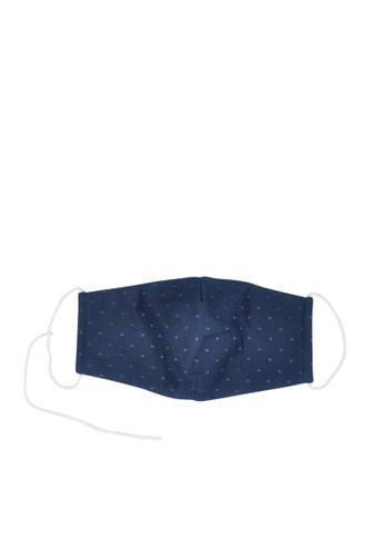 MAYONETTE navy MAYONETTE Lace Masker Basic Polka 3 pcs - Navy - non-medis - High Quality A3EBBES55BCBE8GS_1