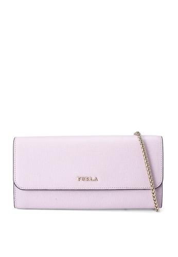 Furla pink Babylon XL Chain Wallet F028FACC091B9BGS_1