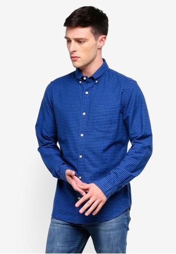 GAP blue Oxford Shirt 179BAAA6B19E6FGS_1