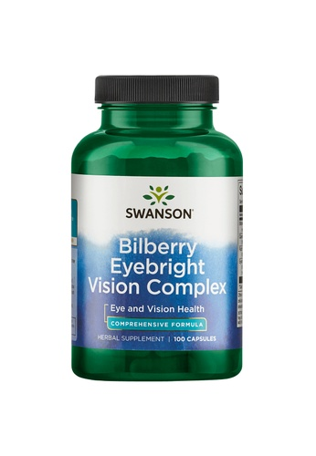 Pure & Well SWANSON BILBERRY EYEBRIGHT VISION COMPLEX 100 CAPS A3C56ES6307B81GS_1
