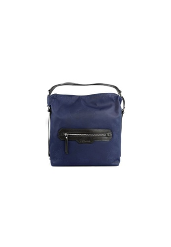 RENOMA Paris blue Renoma Ladies 2 Ways Hobo Bag 1905090-00 B62E8AC8670686GS_1
