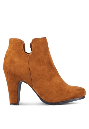 ZALORA brown MF Ankle Boots 5975BZZDCC2490GS_1