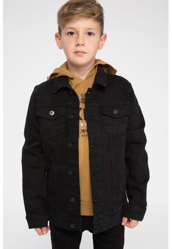 DeFacto black Boy Denim Jacket D3553KACD5B2A1GS_1