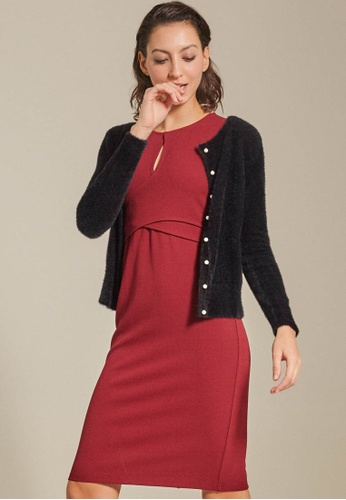 Dressing Paula black Basic Mohair-Blend Cardigan 9F531AAA86E1CEGS_1