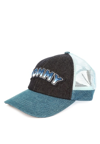 shop tommy hilfiger tommy patch cap online on zalora philippines