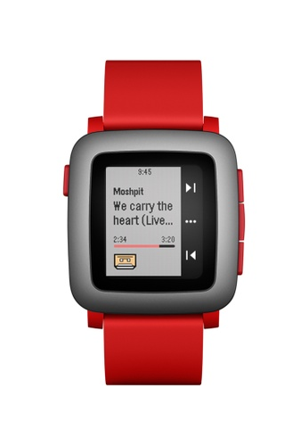 Pebble red Pebble Time PE961AC31AIISG_1