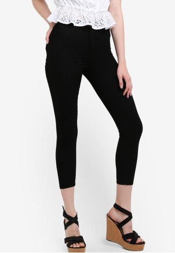 Miss Selfridge black Petite Steffi Black Jeans MI665AA59OCEMY_1