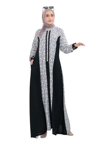 Edissy Fashion grey Polka Dress Codoray 9F2C4AAF3F7CE7GS_1