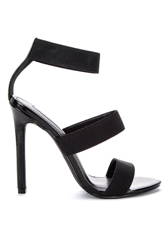 b44b0a53abd Crave Patent Solid Tone Heeled Sandals
