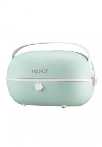 Mayer Mayer Portable Electric Lunch Box (MMMC828-GN) Bundle 0C4CCHL27D5AE9GS_1