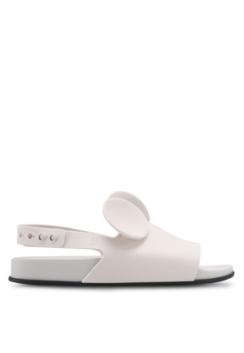 Melissa white Melissa Beach Slide Disney Sandals ME121SH0SX7JMY_1