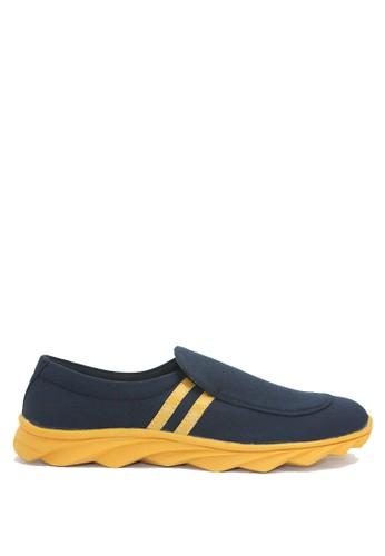 Dr. Kevin multi and navy Dr. Kevin Men Casual Shoes Slip On 13270 - Black/Yellow DR982SH67ASMID_1