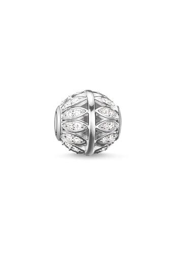 """THOMAS SABO silver Bead """"leaves"""" FEC18AC65594BFGS_1"""