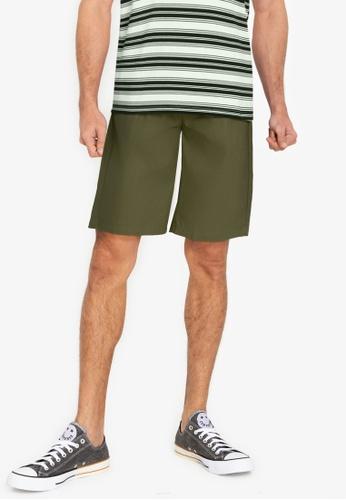 ZALORA BASICS green Deck Shorts A1F6AAA9A8C1A8GS_1