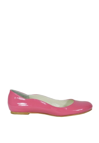 Jacque pink Fiona Pink Flats JA262SH91FYYMY_1