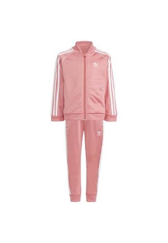 ADIDAS pink adicolor sst tracksuit A43EEKAE0485FCGS_1