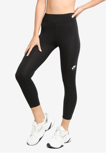Nike black and grey Air Women's 7/8 Leggings 599D2AAE12901CGS_1