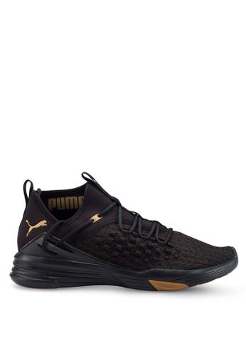 Puma black Mantra Fusefit Desert Training Shoes D807ASH6C562E0GS_1