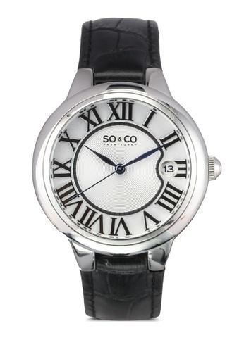 SO&CO black Madison Watch 5052L SO540AC0SHN7MY_1