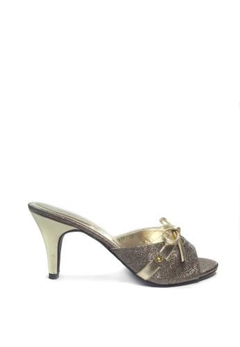Beauty Shoes brown Beauty Shoes 177 Princess Heels Brown  4B4EBSHEF90772GS_1