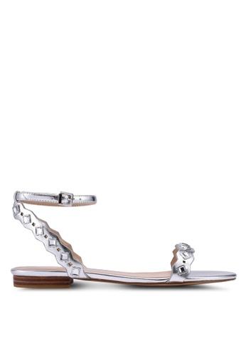 ALDO silver Amelie Sandals 04985SH4F8E5B3GS_1