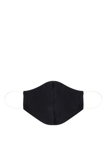 ZALORA black Reusable Cotton Face Mask FF02FESC71D373GS_1
